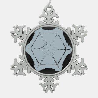 A Snowflake 8 Snowflake Ornament