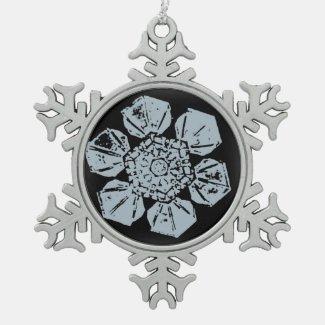 A Snowflake 9 Snowflake Ornament