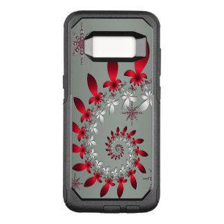 A Snowflake Spiral OtterBox Commuter Samsung Galaxy S8 Case