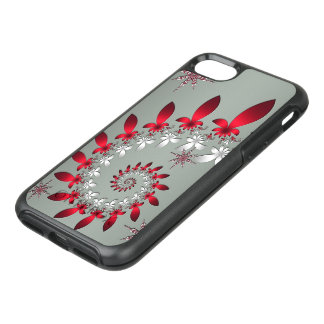 A Snowflake Spiral OtterBox Symmetry iPhone 7 Case