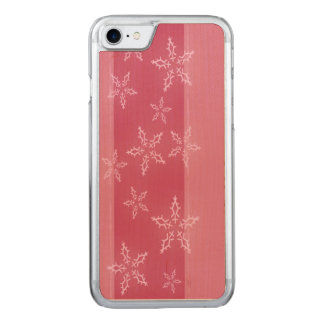 A Snowflake Stripe 4 Carved iPhone 7 Case