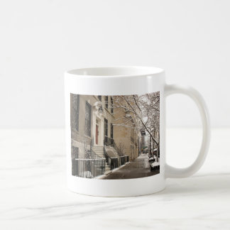 A Snowy Day on the Upper East Side Coffee Mug