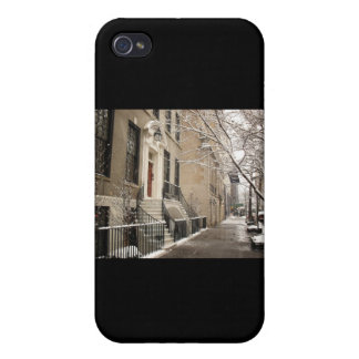 A Snowy Day on the Upper East Side Case For iPhone 4