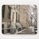 A Snowy Day on the Upper East Side Mouse Pad