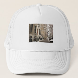 A Snowy Day on the Upper East Side Trucker Hat