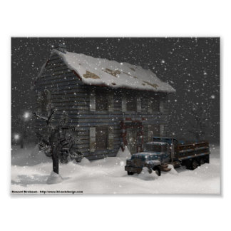 A Snowy Day Poster