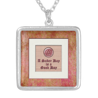 A Sober Day Recovery Sobriety Necklace