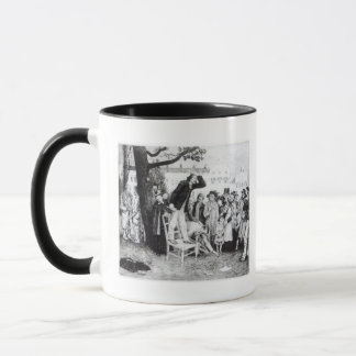 A Socialist Speaker, engraved by W.Strong, 1891 Mug