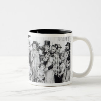 A Socialist Speaker, engraved by W.Strong, 1891 Two-Tone Coffee Mug