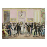 A Society Ball, engraved by Charles Etienne Cards