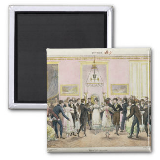 A Society Ball, engraved by Charles Etienne Magnet