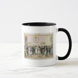 A Society Ball, engraved by Charles Etienne Mug