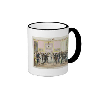 A Society Ball, engraved by Charles Etienne Ringer Coffee Mug