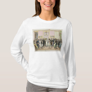 A Society Ball, engraved by Charles Etienne T-Shirt
