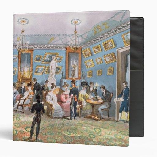 A Society Drawing Room, c.1830 Binders
