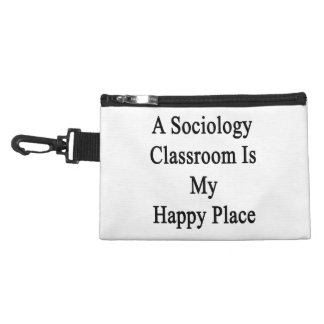 A Sociology Classroom Is My Happy Place Accessories Bags