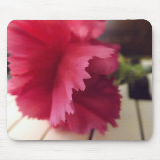 A Soft Pink Melody Mousepad