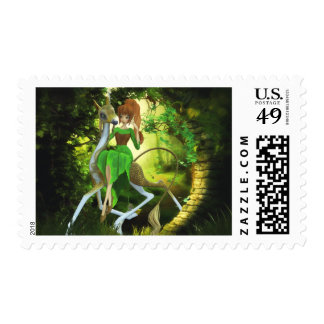 A Sojourn Through the Wood Postage