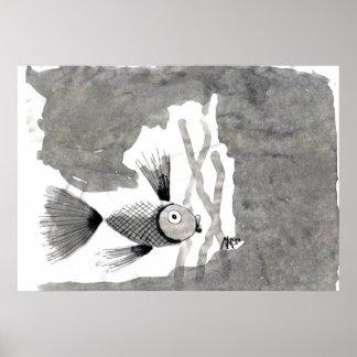 A solas-pescados posters
