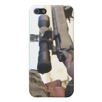 A soldier aims in with his M40A3 Case For iPhone SE/5/5s