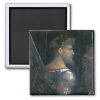 A Soldier, c.1505-10 2 Inch Square Magnet