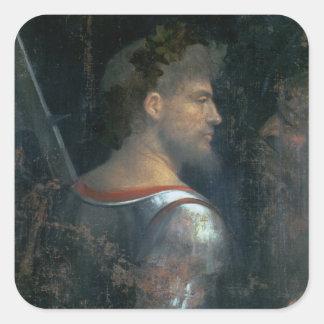 A Soldier, c.1505-10 Square Sticker