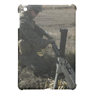 A soldier changes the barrel of an M2 50 Cover For The iPad Mini