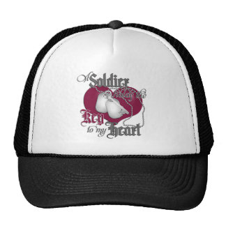 A Soldier holds the key to my Heart Trucker Hat
