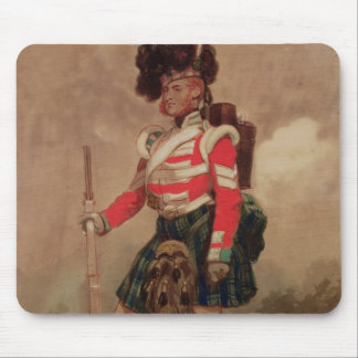 A Soldier of the 79th Highlanders at Chobham Mouse Pad