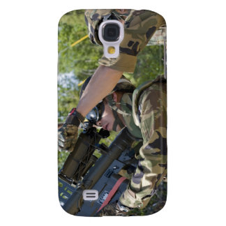 A soldier operates a missile launcher samsung s4 case