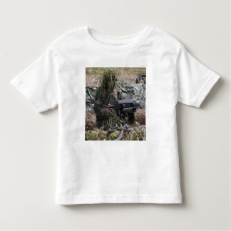 A soldier with MK-19 grenade launcher T-shirt