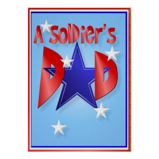 A Soldier's Dad Poster