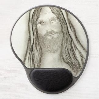 A Solemn Jesus Gel Mouse Pad