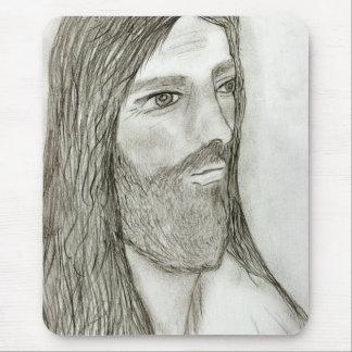 A Solemn Jesus II Mouse Pad