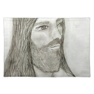A Solemn Jesus II Placemat