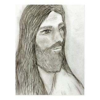 A Solemn Jesus II Postcard