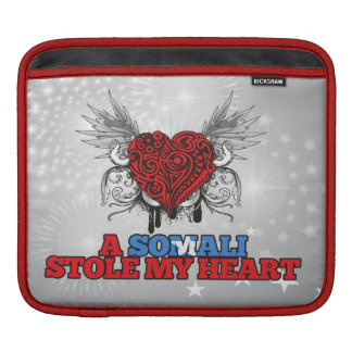 A Somali Stole my Heart Sleeve For iPads