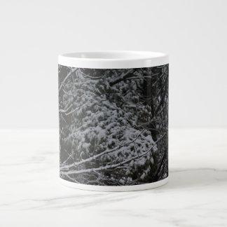 A Somber Scene Of Winter Giant Coffee Mug