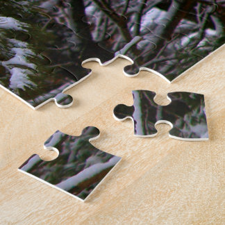 A Somber Scene Of Winter Jigsaw Puzzle