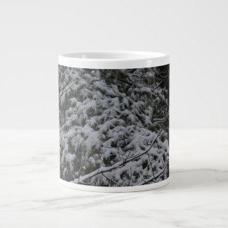 A Somber Scene Of Winter Large Coffee Mug