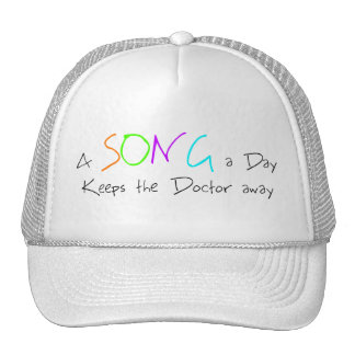 A Song a Day Keeps the Doctor Away Trucker Hat