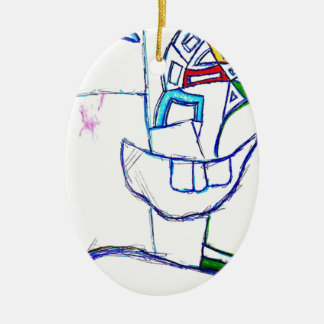A Songbirds Morphetic Ceramic Ornament