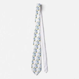 A Songbirds Morphetic Neck Tie