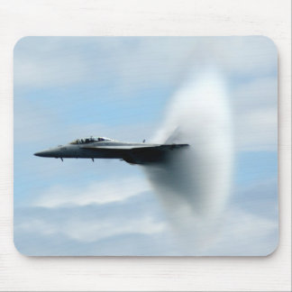 A Sonic Boom Mouse Pad
