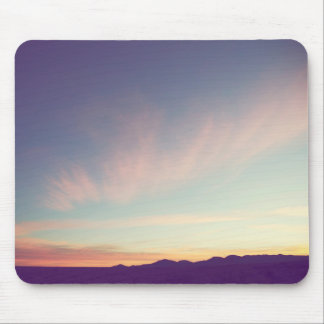 A Sonoran Desert Sunset Mouse Pad