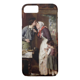 A Son's Devotion, 1868 (oil on canvas) iPhone 7 Case