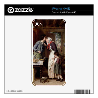 A Son's Devotion, 1868 (oil on canvas) Skin For The iPhone 4S
