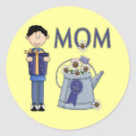 A Sons Wish For Mum Stickers