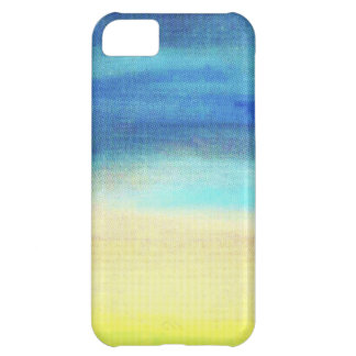 A soothing display of soft pastel colors decor iPhone 5C case