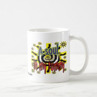 A soul in my tummy coffee mug